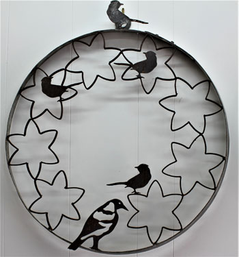 Metal Art - Birds & Magpie Wall Hanger