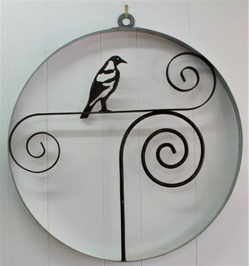 Metal Art - Magpie Wall Hanger